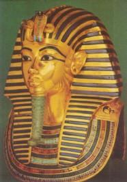 Totenmaske Tutanchamuns um 1350 v. Chr. KK