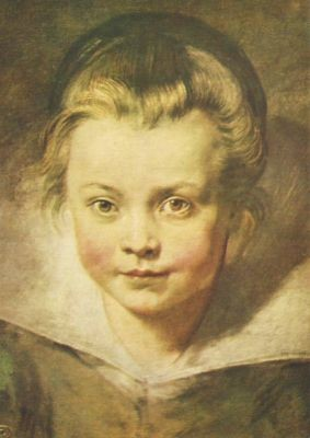 Peter-Paul Rubens. Kinderkopf. KK