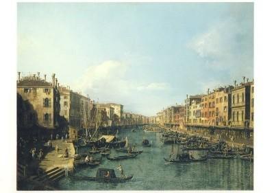 Antonio Canal. (Canaletto). Der Canal Grande, ca. 1738/42