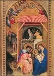 Crocifissi, Simone. Geburt Christi, um 1380. DK