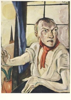Max Beckmann. Selbstbildnis, 1917. KK