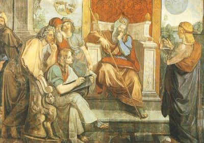 Cornelius, P. Joseph deutet die Träume des Pharao. KK