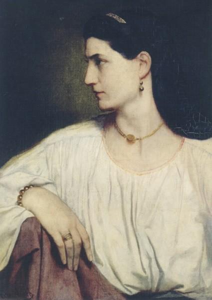Anselm Feuerbach. Nanna, 1861
