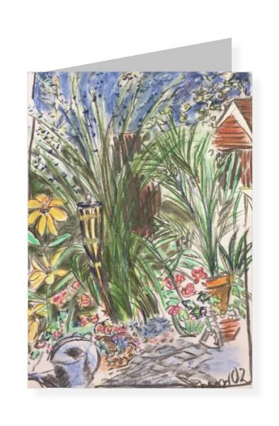 Imme Linzer. Gartenexplosion, 1991