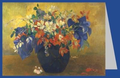 Paul Gauguin. Blumenvase, 1896