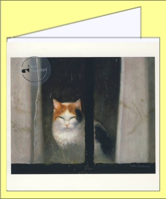 Sijbesma, Martin. Poes, 2007. 15x15 - DK