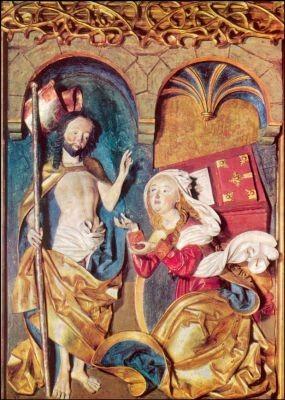 Ostermorgen. Johanneskappel der Abtei Nonnberg 1498. KK
