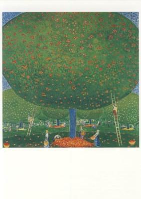 Cuno Amiet. Apfelernte, 1907