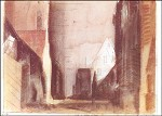 Lyonel Feininger. Straße in Treptow an der Rega, 1930. KK