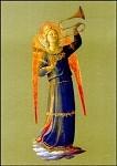 Angelico, Fra. Musizierender Engel,1433. KK.