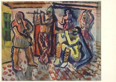 Harlekine (1942), Kuhn