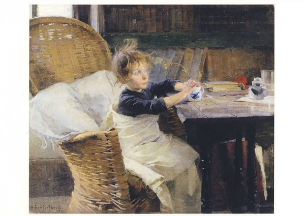 Helene Schjerfbeck. Die Genesene, 1888. KK