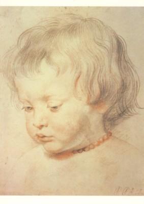 Peter-Paul Rubens. Bildnis seines Sohnes Niclas. KK