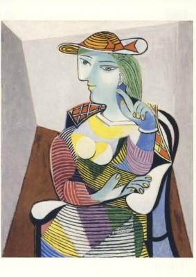 Pablo Picasso. Portrait de Marie-Thêrêse, 1937