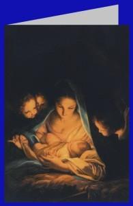 Carlo Marattal. Die Heilige nacht, 1652. DK