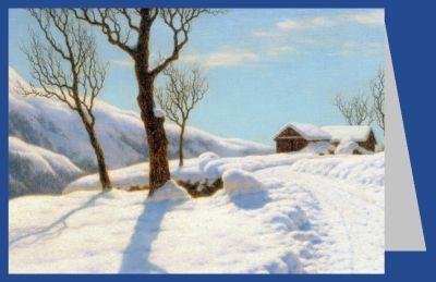 Iwan Fedorowitsch Choultsé. Morgensonne im Winter