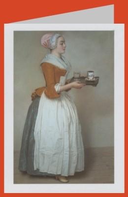 Liotard, J.-E. Das Schokodadenmädchen. DK