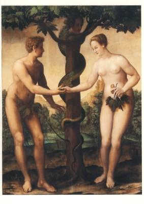 Peintre Flamand en France. Die Erbsünderin, 1580