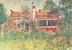 Larsson, C. Die Hütte, 1896. KK