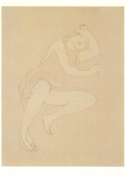 Auguste Rodin. Schlafendes Mädchen