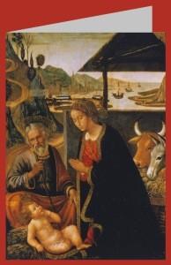 Mainardi. Anbetung des Christuskindes, ca 1490. DK