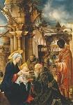 Albrecht Altdorfer. Die Anbetung der Koenige, um 1530/35