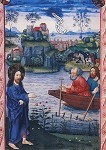 Salzburger Missale, 3.Band. Jesus am See. 1478-1489. KK