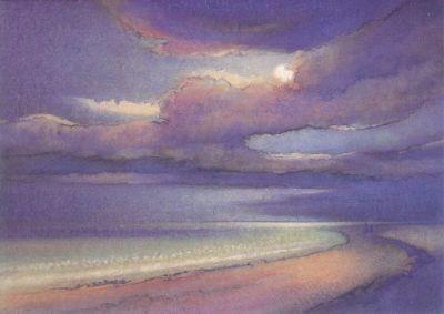 Hans Geissberger. Mondnacht