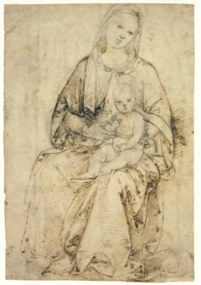 Raffael. Madonna mit Kind, um 1500/1502