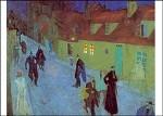Lyonel Feininger. Straße im Dämmern, 1910. KK