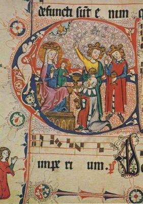 Anbetung der Könige, um 1330. KK