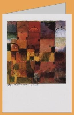 Klee, P. Rote und weisse Kuppeln,1914,45. DK