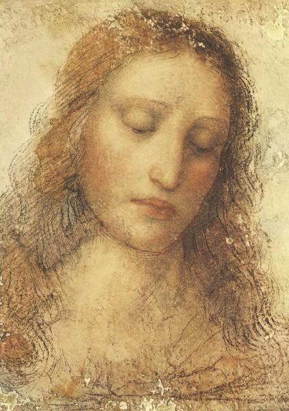 Leonardo da Vinci. Christus aus dem Abendmahl (IL Redentore)