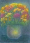 Ruth Elsässer. Blumenstrauss. KK