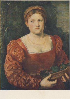 Bordone. Weibliches Bildnis