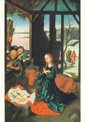 Schongauer, M. Die Geburt Christi. KK