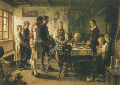 Vautier. Das Tischgebet