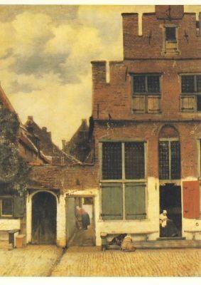 Jan Vermeer van Delft. Kleine Straße