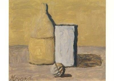 Morandi, Giorio. Stilleben, 1964. KK