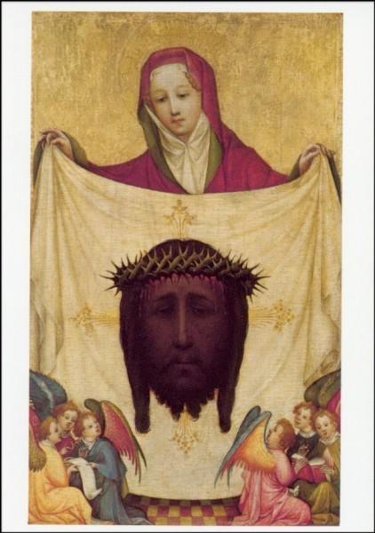 Die Heilige Veronika mit dem Schweisstuch. KK