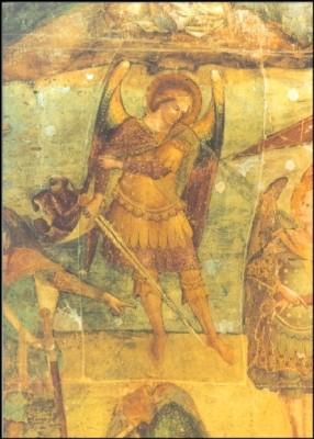 Camposanto. Jüngstes Gericht, Michael. KK
