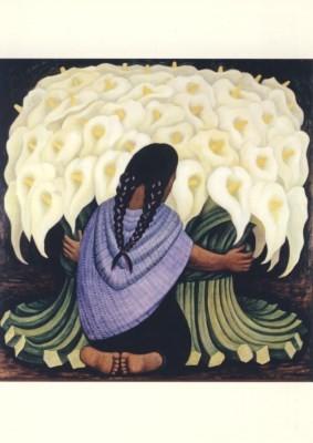 Diego Rivera. Die Callasblumen-Verkäuferin, 1942