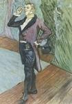 Henri de Toulouse-Lautrec. Bildnis des Herrn Samary, 1889