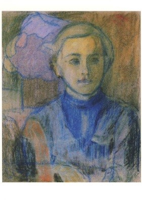 Giacometti, Alberto. Ottilia, ca. 1913. KK