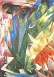 Franz Marc. Die Vögel, 1914
