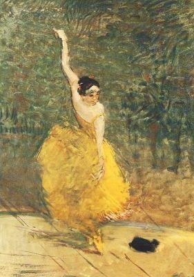 Henri de Toulouse-Lautrec. Spanische Tänzerin, 1888