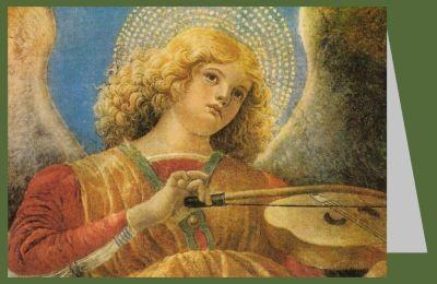 Melozzo da Forli. Musizierende Engel