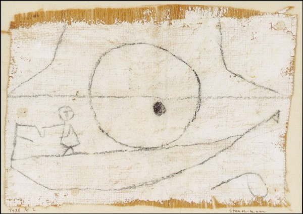 Klee, P. Steuermann, 1938. KK