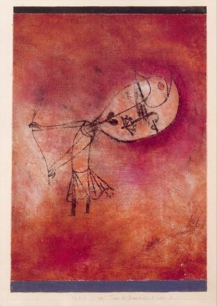 Klee, P. Tanz des trauernden Kindes II, 1922. KK