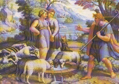 Raffael. Jakob sah beim Brunnen Rahel; und als .... KK